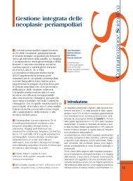 Gestione integrata delle neoplasie periampollari - Sied
