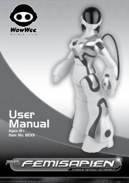Femisapien Manual - WowWee