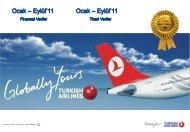 Eylül 2011 - Turkish Airlines