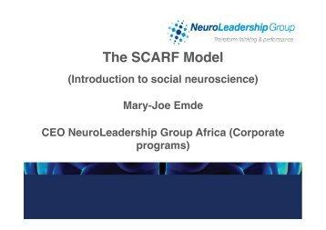 Neuroscience of feedback - ACSG