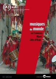 Repères n°5 - mars 2008 Musiques du monde en ... - Arcade PACA