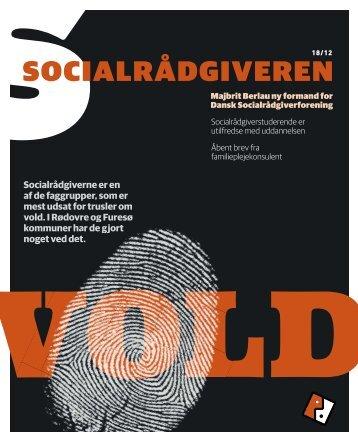 Socialrådgiveren nr. 18-2012 - Dansk Socialrådgiverforening
