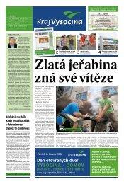Květen 2012 - Extranet - Kraj Vysočina