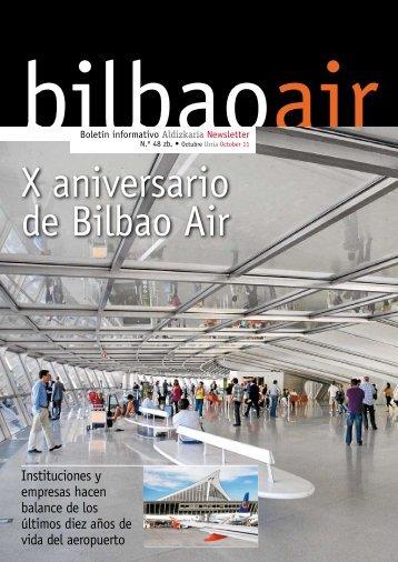 newsletter bilbao air. último número octubre 2008