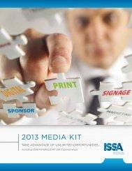 2013 MEDIA KIT - ISSA.com