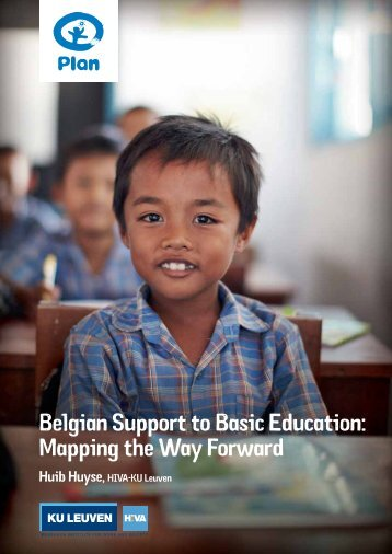 Belgian Support to Basic Education: Mapping the Way Forward