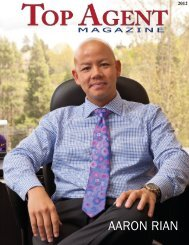 See Us in Top Agent Magazine - The Rian Group Real Estate
