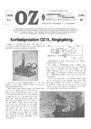 Kortbølgestation OZ1K, Ringkjøbing. - risby.nu