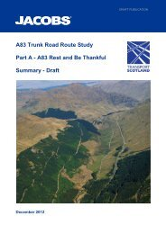 A83 Trunk Road Route Study Part A - A83 Rest and Be Thankful ...