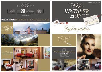 Price list winter 2011/2012 - Hotel Inntalerhof