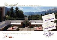 Download Journal 2012 - Hotel Inntalerhof