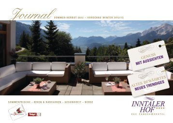 Download Journal 2012 - Hotel Inntalerhof