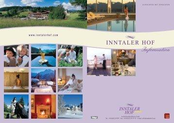 Ferienwohnungen Haus Maximilian Winter 2009 ... - Hotel Inntalerhof