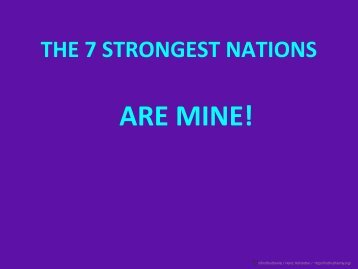 7 nations - firstfruitfamily
