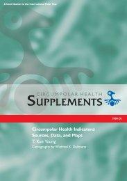 Circumpolar Health Indicators: Sources, Data and Maps