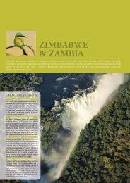 ZAMBIA & ZIMBABWE