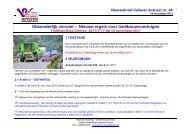 Nieuwe regels voor landbouwvoertuigen - Lokale Politie