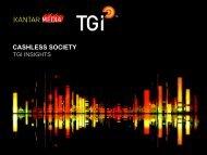 The Cashless Society - TGI Insights and Integration