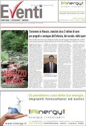 Terremoto in Abruzzo, stanziati circa 2 milioni di euro per progetti a ...