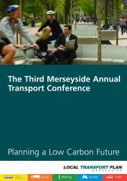 MTP Conference invite - the TravelWise Merseyside website