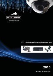 Catálogo general 2010 - Sistemas analógicos - CCTV Center