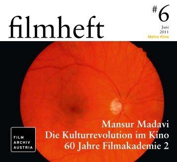 Mansur Madavi Die Kulturrevolution im Kino 60 Jahre Filmakademie 2