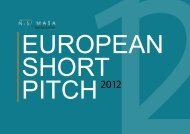 he Book of European Short Pitch. - Nisi Masa