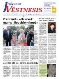 2011.gada 18.augusts Nr.32(217) - Jelgavas Vēstnesis