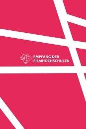 Das Programm 2012 - Verbund deutscher Filmhochschulstudenten eV