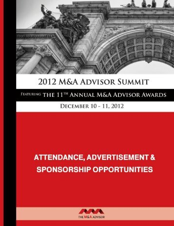 C. Summit and Awards Journal Advertising