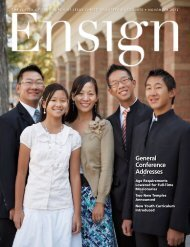 General Conference Addresses - The Church of Jesus Christ of ...