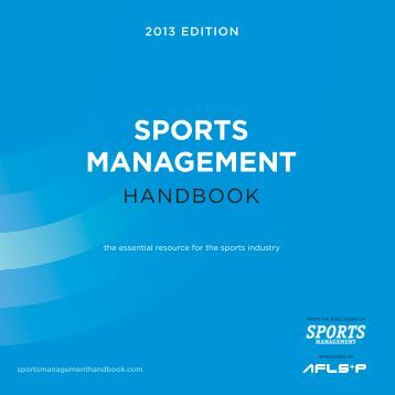 Download PDF - Sports Management Handbook