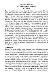 III Domenica d'Avvento lc 7,18-28 - San Pier Giuliano Eymard