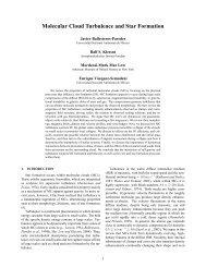 Molecular Cloud Turbulence and Star Formation. Ballesteros ...