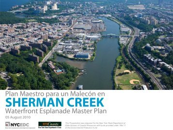SHERMAN CREEK - NYCEDC