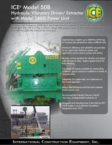 ICE® Model 50B - ICEUSA