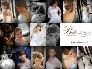 Bridal Look Book | 2009 - Bella Bethesda Salon