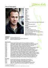 Batangtaris, Marcel 12 - pure actors and presenters