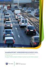 Jaarrapport Verkeersveiligheid 2011: Analyse van ...