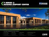 7 SERIES @ HUGHES AIRPORT CENTER - Property Line