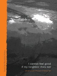 I cannot feel good if my neighbor does not - Centre for Nonviolent ...