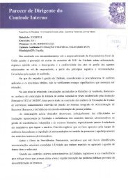 Parecer do Controle Interno FCP - Fundação Cultural Palmares