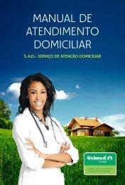 MANUAL DE ATENDIMENTO DOMICILIAR - Unimed Cuiabá
