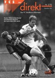 Der FC Solothurn informiert
