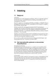 1 Inledning (pdf) - Statistiska centralbyrån