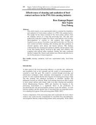 Effectiveness of cleaning and sanitation of food contact surfaces in ...