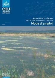 aide à la lecture des fiches - Agence de l'Eau Seine Normandie