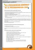 Programme d'insertion - Province Nord - Page 6