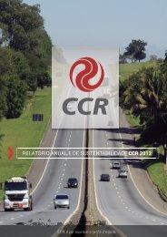 relatório anual e de sustentabilidade ccr 2012 - EasyWork