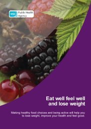 Eat well feel well and lose weight - Belfast Health and Social Care ...